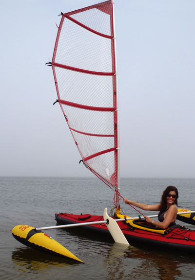 BSD 32' Racer Vision XP and Mark I, Feel Free kayak